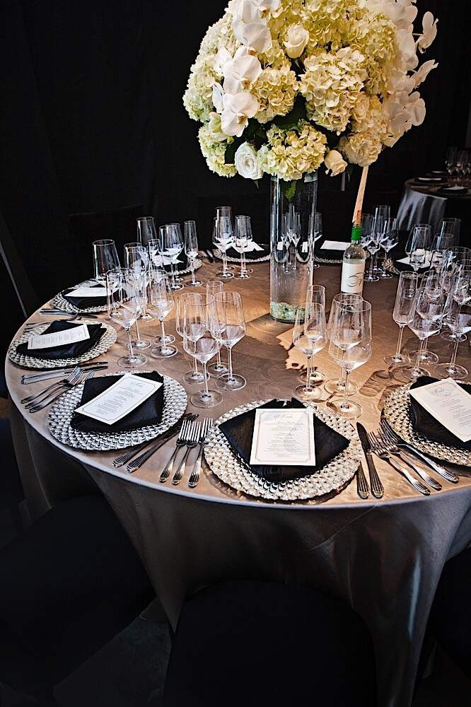 luxury rental wedding table linens bbj event designer pin by