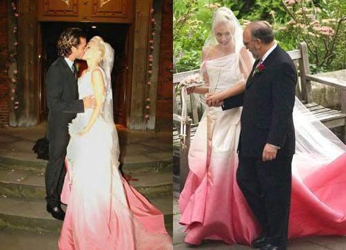 Wedding Dress Singer Pink Dress Blog Edin