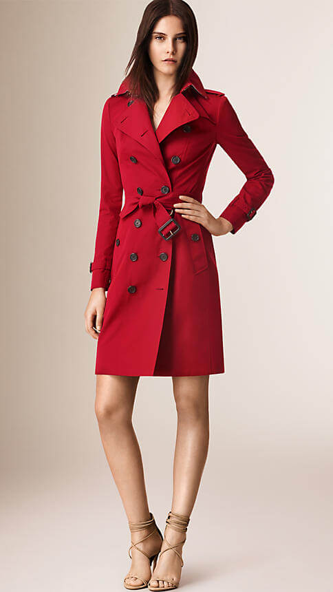 Burberry Sandringham Long Heritage Trench Coat