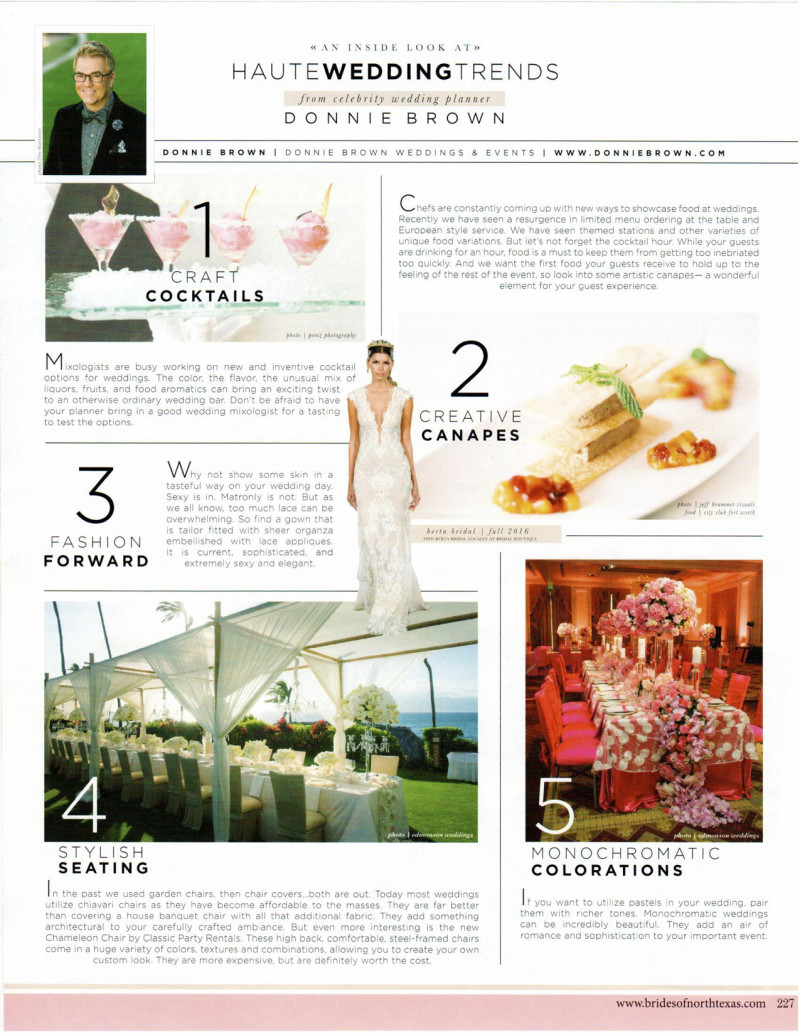 Wedding Trends Editorial
